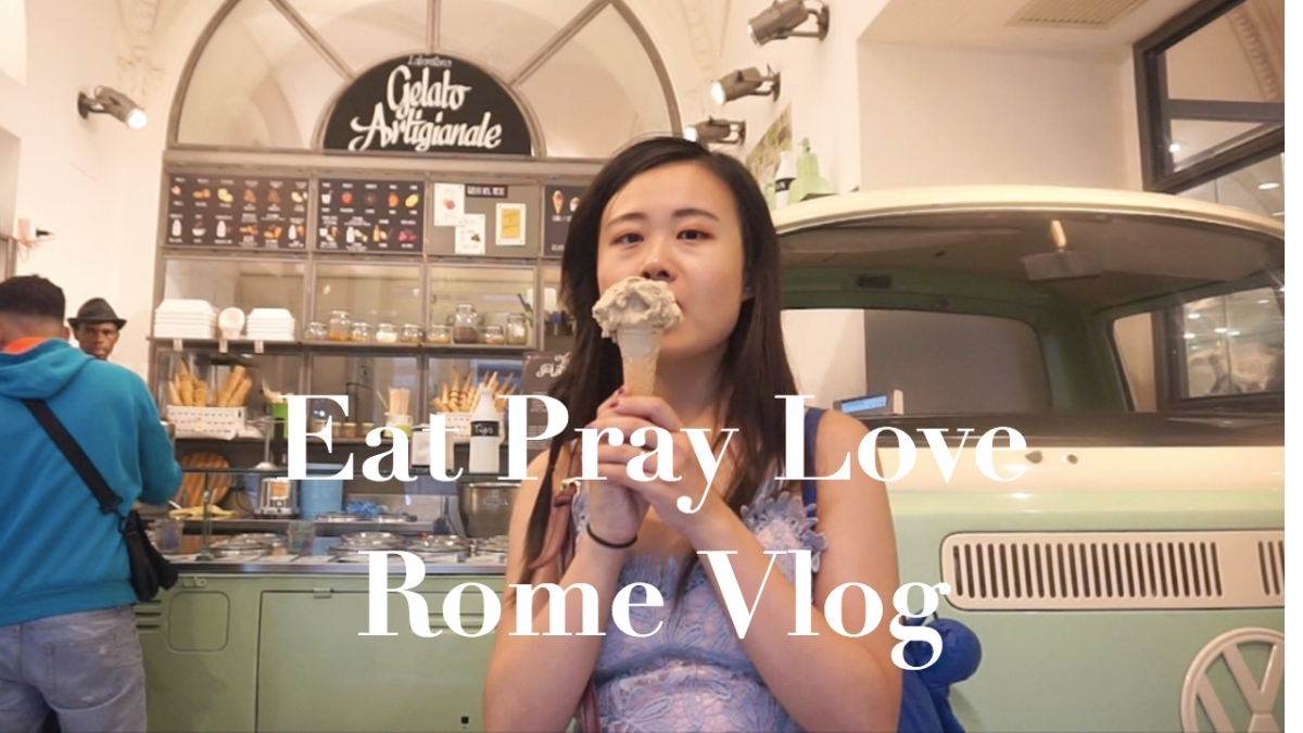 Eat Pray Love in Roma
